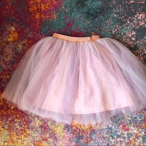 H&M Girl Glittery Tulle Tutu Skirt | Sz: 8-10